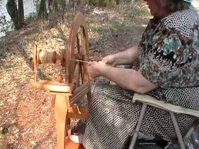 Nancy Today:  1 Spinning By the lake ASMR