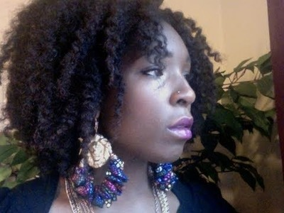 NATURAL HAIR: RESULTS FROM USING CARE FREE CURL SHAMPOO, PH BALANCED CONDITIONER AND ACTIVATOR