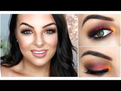 NYE MAKEUP LOOK! Get Ready & Chat With Me!