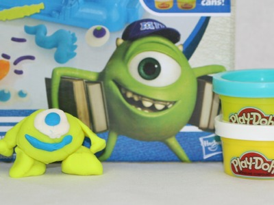 Play-Doh Mike Wazowski Monsters University How To Make Play-Doh Mike Wazowski Monster Tutorial