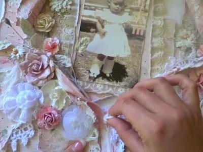 Prima Tea-Thyme Dream Layout & Paper Collection Sneak Peak