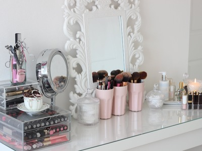 Room Tour, Malm Dressing Table and Make Up Collection