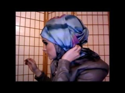 Shaylati hijab tutorial and review