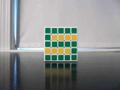 The Alphabet in Rubik's Cubes