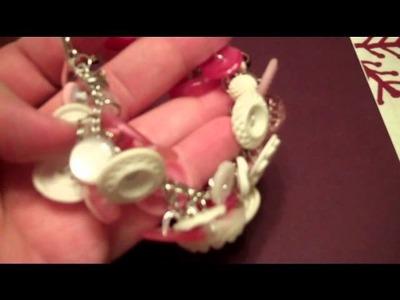 Vintage button bracelet part 1
