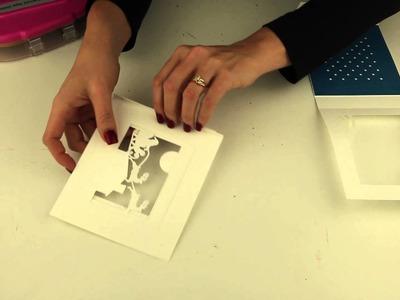 5x7 Shadow Box Card