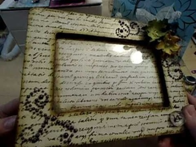 Altered Picture Frames, Charms and Watches
