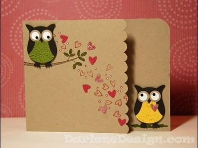 Another Two Step Owl Punch Card