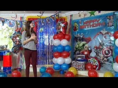 Assemble A Superhero Party With The Avengers!
