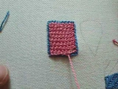 Buttonhole Filling (Detached) Embroidery Stitch