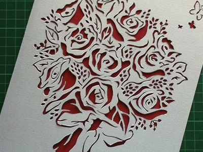 Card Cut Out Design - Create Your Own Greetings Card