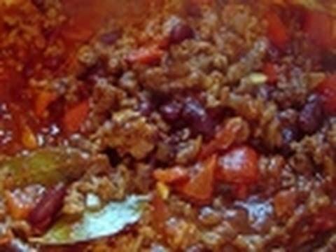 Chili Con Carne How to make recipe