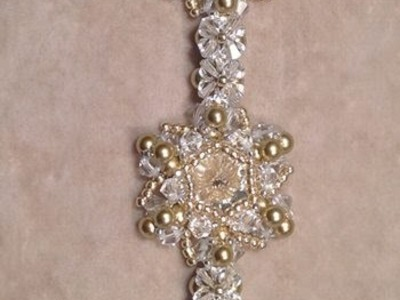 Christamas Star Bracelet Tutorial