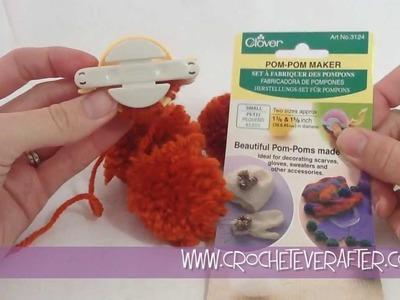 Clover Pom Pom Maker Review and Tutorial