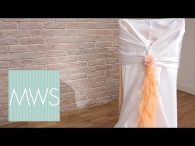 Customised Wedding Chair Cover | Maid At Home S3E7.8