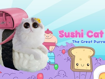 """CUTE COSTUMES"" Sushi cat 2 The Great Purrade"