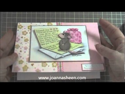 Five Cute Valentine Cards made using Martha Stewart, House Mouse & Xyron Design Runner Part 1