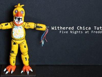 Five Nights at Freddy's 2 Withered Chica Polymer Clay Tutorial