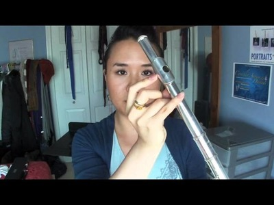Flute 101: how to put it together, where your fingers go, how to clean it, & all that jazz.