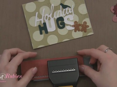 Holiday Hugs Card with the Cricut Expression