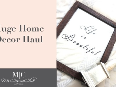 Home Decor Haul |  Home Goods, Target, Anthropologie and Amazon