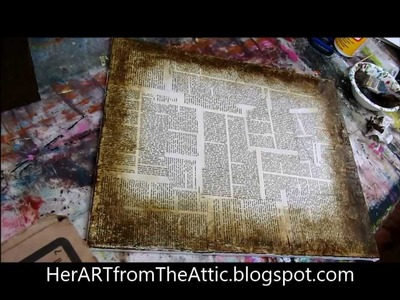 How to antique paper