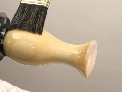 How to apply sanding sealer (Woodturning Tips and Techniques)