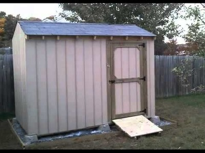 how to build a shed ramp youtube
