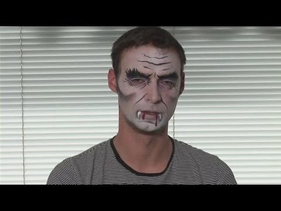 How To Face Paint A Vampire