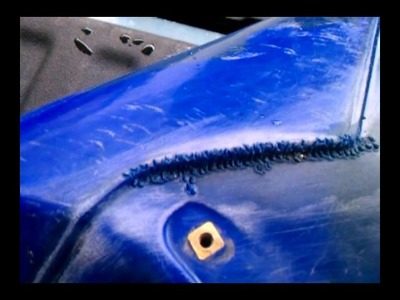 How to fix. repair your plastic gas tank and make it last!