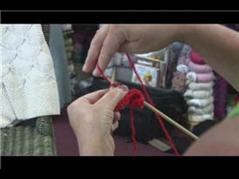 How to Knit : How to Knit Yarn Forward