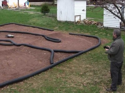 How to make a backyard RC car track - tips and techniques