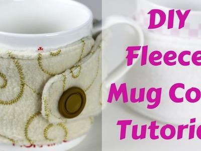 How to Make a Fleece Mug Cozy Tutorial