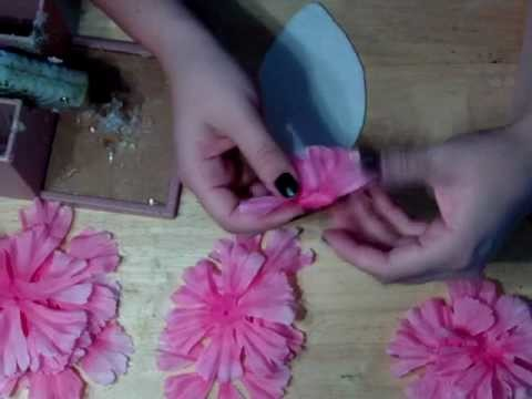 """How to make a floral headband"""