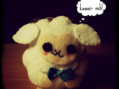How To Make A Kawaii Sheep Plushie