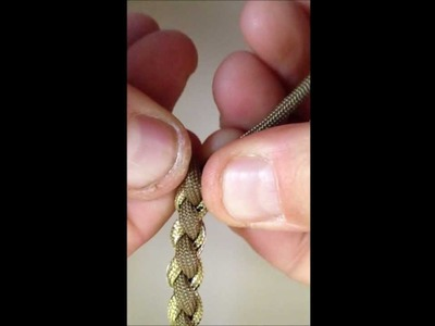 How to make a paracord survival necklace