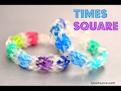 How to Make a Times Square Rainbow Loom Bracelet