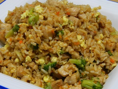 How to make Home made Chinese Fried Rice