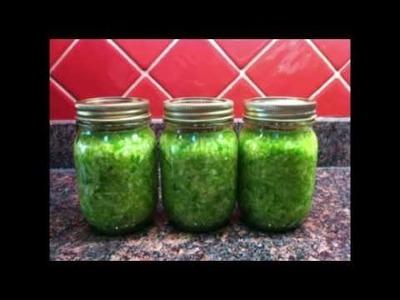 How to make sauerkraut the easy way!