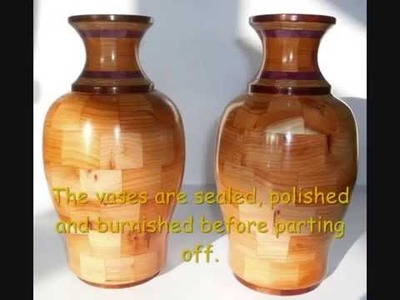 How to make segmented vases
