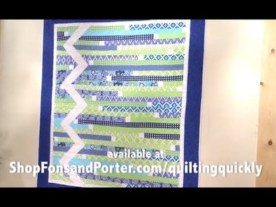 How To Make the Stitch and Slice Zigzag Quilt