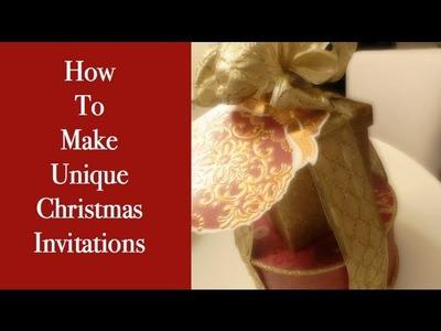 How To Make Unique Invitations