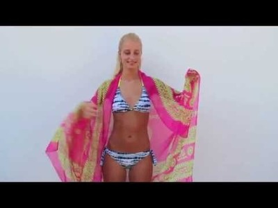 How to tie a sarong | Learn how to style a scarf as a sarong