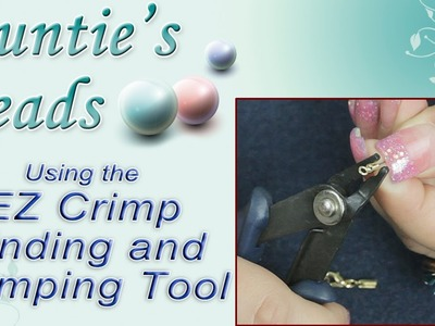 How to use the EZ Crimp Finding and Crimping Tool - Karla Kam