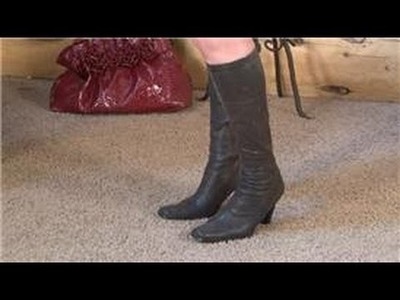 How to Wear Various Boots : How to Wear Suede Boots
