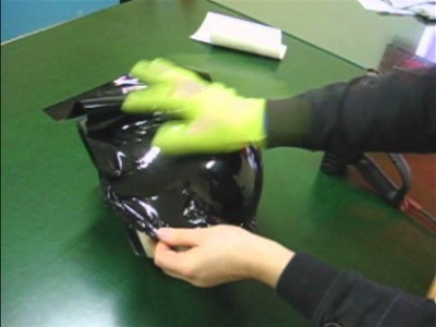 How to wrap a helmet