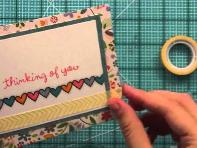 Intro to Belinda's Borders + 3 cards from start to finish { Lawn Fawn }