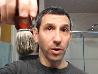 Lathering Tutorial - How to lather a shaving soap