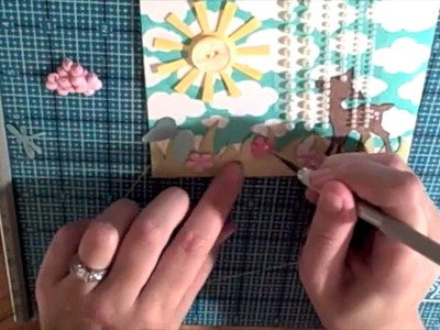 Lawn fawn cards: Oh my dear, my shutters are shabby! Making a card and BLOG CANDY!