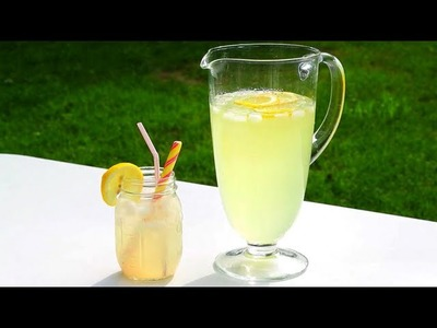 Lemonade Recipe - How to Make Homemade Lemonade